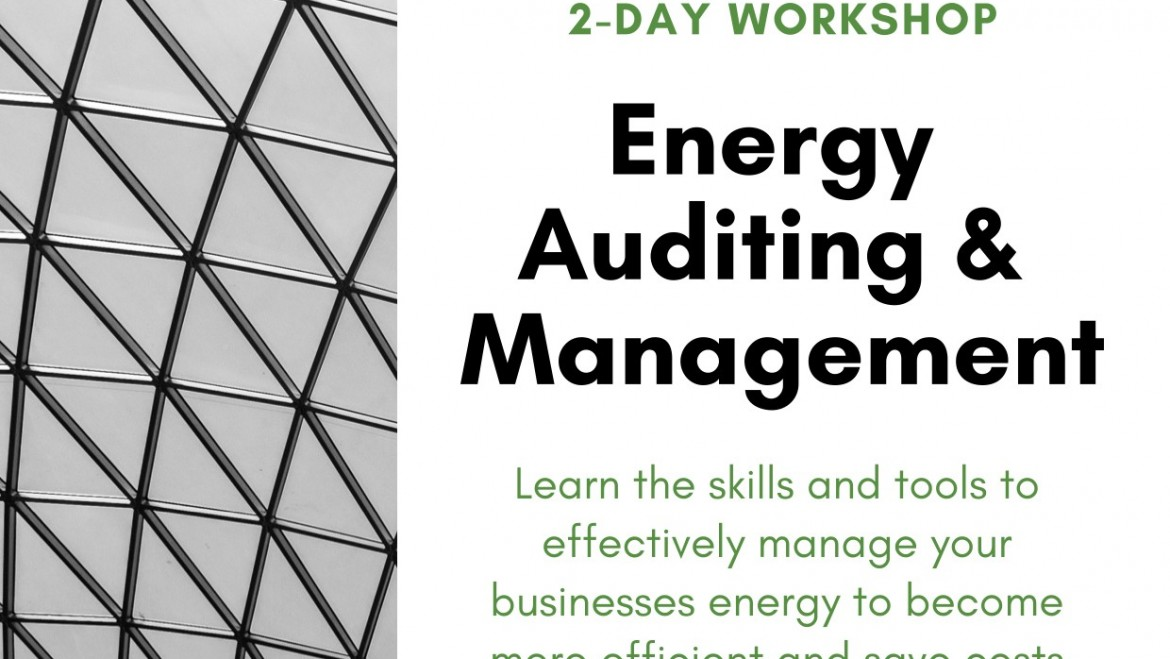 2-Day Workshop Energy Auditing & Management